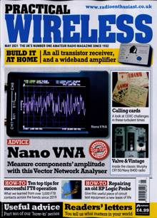 Practical Wireless Magazine MAY 21 Order Online