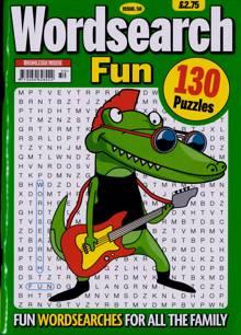 Wordsearch Fun Magazine Issue NO 50