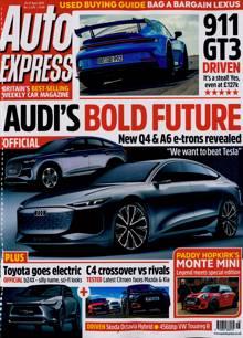 Auto Express Magazine 21/04/2021 Order Online