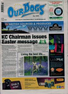 Our Dogs Magazine 09/04/2021 Order Online