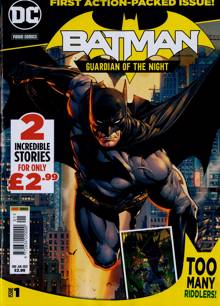 Batman Guardian Of The Night Magazine 06/05/2021 Order Online