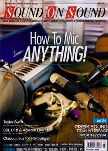 Sound On Sound Magazine MAR 21 Order Online
