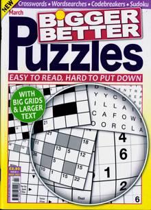 Bigger Better Puzzles Magazine NO 2 Order Online