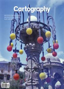 Cartography #8 Cover 1 Blue Magazine Iss 8 blue Order Online