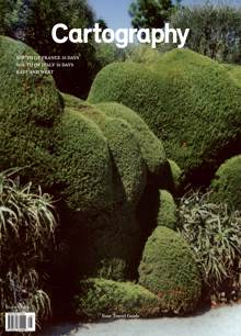 Cartography #8 Cover 2 Green Magazine Iss8 Green Order Online