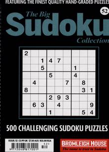 Big Sudoku Collection Magazine NO 52 Order Online