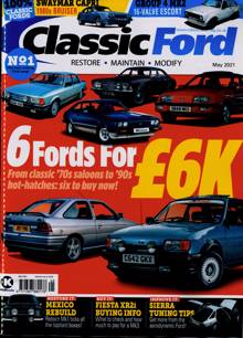 Classic Ford Magazine MAY 21 Order Online