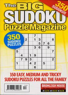 Big Sudoku Puzzle Magazine NO 112 Order Online