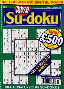 Take A Break Sudoku Magazine NO 3 Order Online