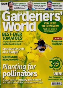 Bbc Gardeners World Magazine MAR 21 Order Online
