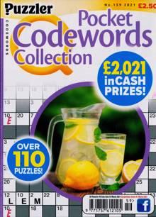 Puzzler Q Pock Codewords C Magazine NO 159 Order Online