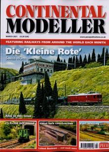 Continental Modeller Magazine MAR 21 Order Online