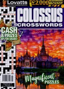 Lovatts Colossus Crossword Magazine NO351 Order Online