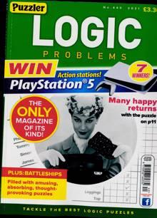 Puzzler Logic Problems Magazine NO 440 Order Online