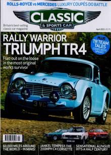 Classic & Sportscar Magazine APR 21 Order Online