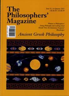 The Philosophers Magazine Magazine Issue 92
