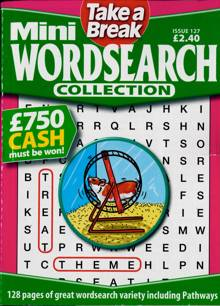 Tab Mini Wordsearch Coll Magazine Issue NO 127