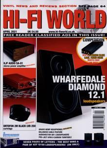 Hi Fi World & Comp Audio Magazine APR 21 Order Online
