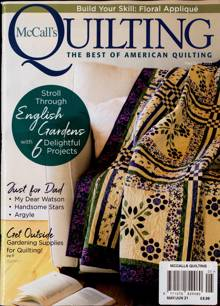 Mccalls Quilting Magazine MAY-JUN Order Online