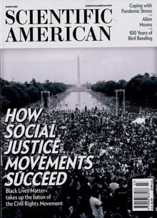 Scientific American Magazine MAR 21 Order Online