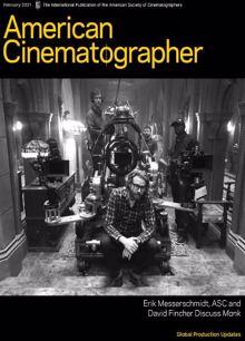 American Cinematographer Magazine FEB 21 Order Online