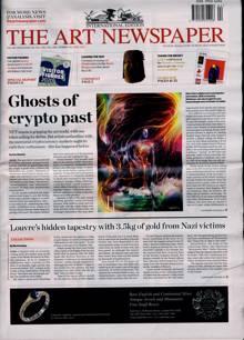 Art Newspaper Magazine APR 21 Order Online
