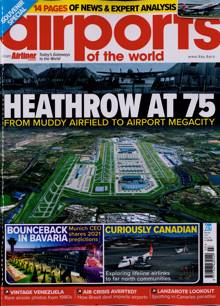 Airports Of The World Magazine MAR-APR 21 Order Online