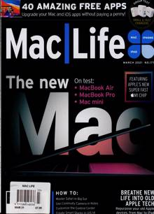Mac Life Magazine MAR 21 Order Online
