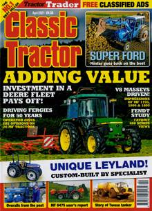 Classic Tractor Magazine APR 21 Order Online