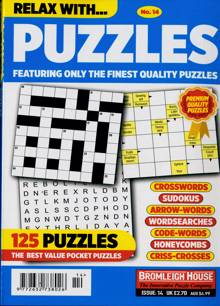 Relax With Puzzles Magazine NO 14 Order Online