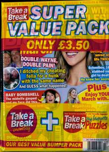 Take A Break Super Value Pack Magazine PACK 17 Order Online