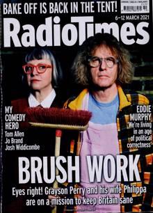 Radio Times London Edition Magazine 06/03/2021 Order Online