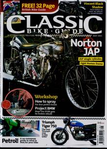 Classic Bike Guide Magazine MAY 21 Order Online