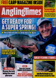 Angling Times Magazine 02/03/2021 Order Online