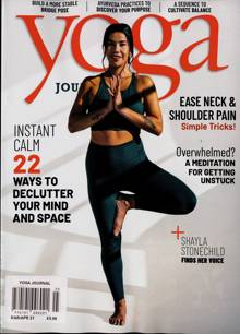 Yoga Journal Magazine MAR-APR Order Online