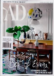 Architectural Digest Spa Magazine NO 164 Order Online