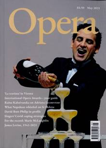 Opera Magazine Issue MAY 21