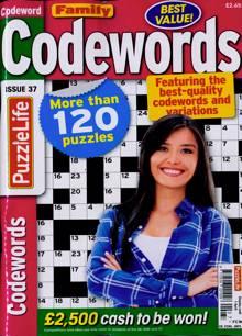 Family Codewords Magazine NO 37 Order Online
