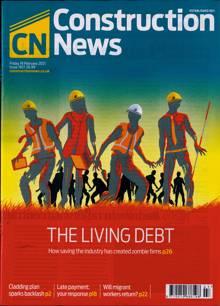 Construction News Magazine 19/02/2021 Order Online
