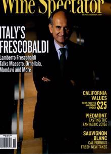 Wine Spectator Magazine Issue APR 30