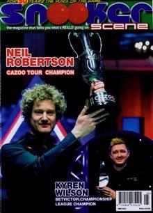 Snooker Scene Magazine MAY 21 Order Online