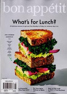 Bon Appetit Magazine MAR 21 Order Online