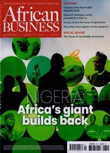 African Business Magazine APR 21 Order Online