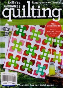 American Patchwork Quilting Magazine 04 Order Online