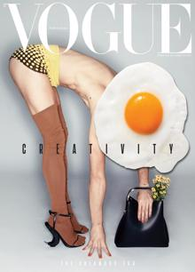 Vogue Portugal - Creativity Magazine Issue Egg Black Bag