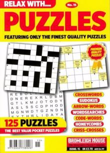 Relax With Puzzles Magazine NO 15 Order Online