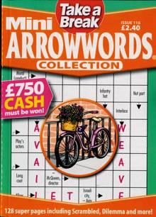 Tab Mini Arrowwords Coll  Magazine Issue NO 116