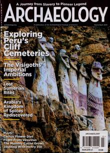 Archaeology Magazine MAR-APR Order Online