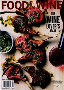 Food & Wine Usa Magazine APR 21 Order Online