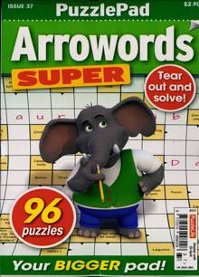 Puzzlelife Arroword Super Magazine NO 37 Order Online